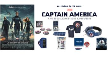 Concours Captain America le soldat de l'hiver