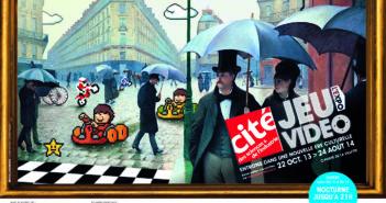 logo jeux vidéo l'expo
