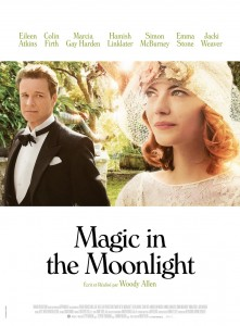 Magic in the moonlight french poster