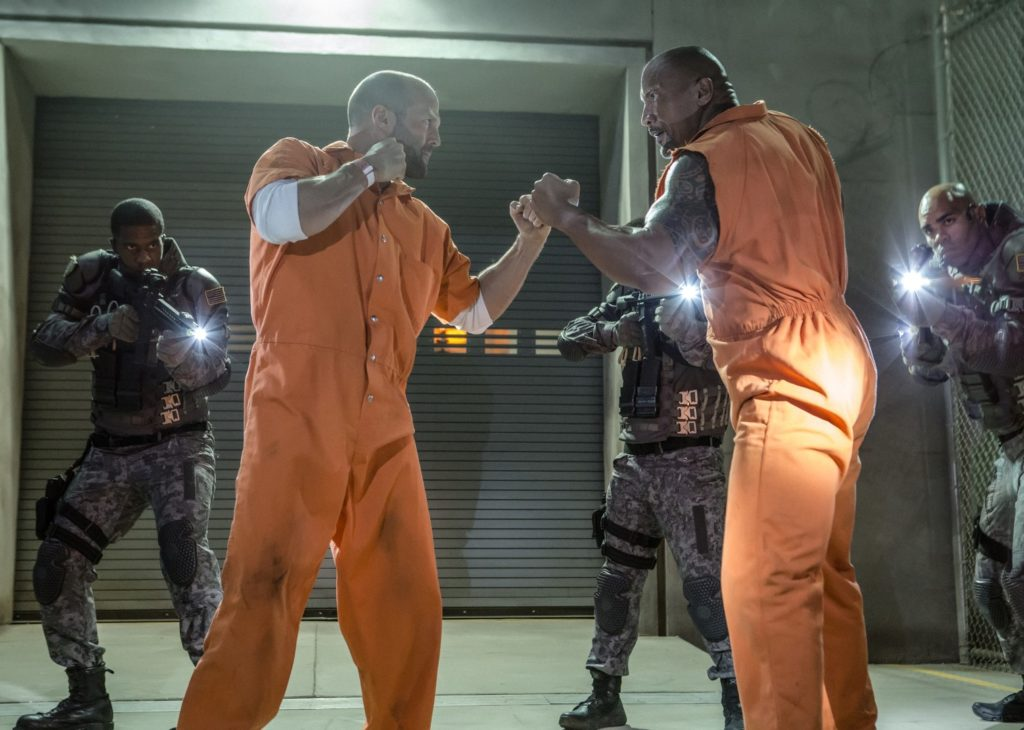 Jason Statham face à Dwayne Johnson dans Fast and Furious 8