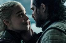 Jon Snow et Daenerys Targaryen dans l'épisode 6 de la saison 8 de Game of Thrones