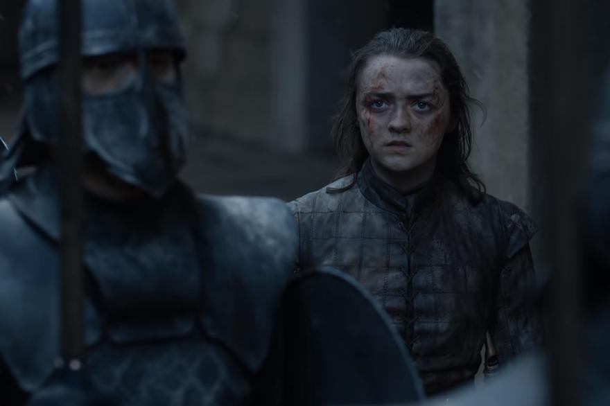 Arya dans le tout dernier épisode de Game of Thrones