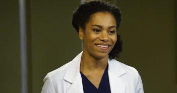 Kelly McCreary, alias Maggie Pierce, dans Grey's Anatomy
