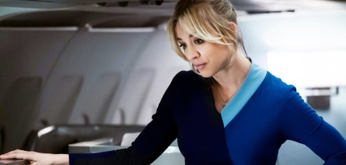 Kaley Cuoco dans The Flight Attendant