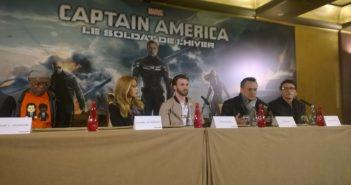 Captain America conférence de presse