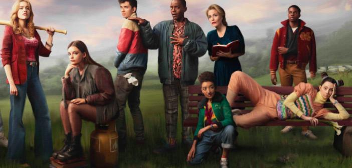 La photo promo de la saison 2 de Sex Education