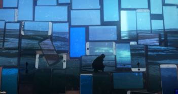 Martin Luminet dans le clip de Monde